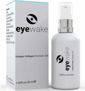 Augencreme gegen Augenringe von Eyewake auf weissem Hintergrund