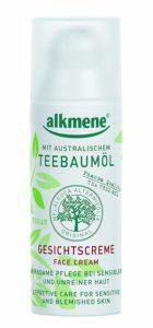 alkmene Teebaumöl-Gesichtscreme